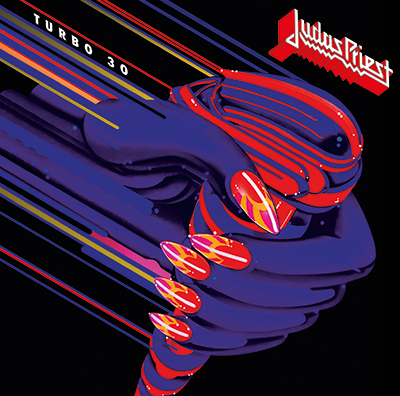 Judsa Priest Turbo 30 Album cover artwork