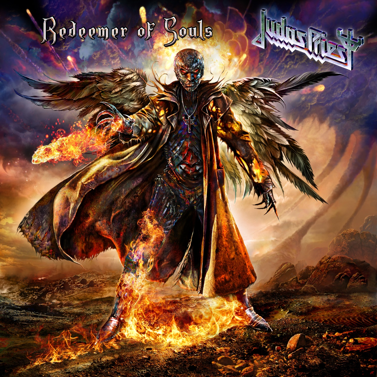 Judas Priest Redeemer of Souls Album Artwork