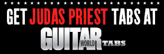 Get Judas Priest tabs from Guitar World